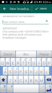 How To Send A Multiple Broadcast Message Using Whatsapp price in nigeria