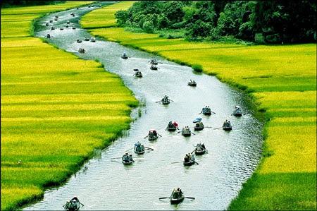 du lịch miền bắc - tam cốc ninh bình- du lịch Minh Anh