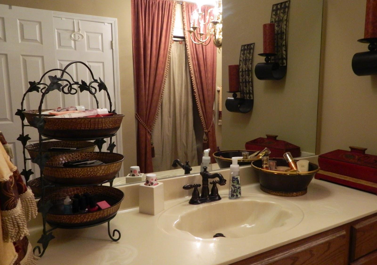 Sugar Spice and Spilled Milk Mission Organization Week 14  My Bathroom Countertop