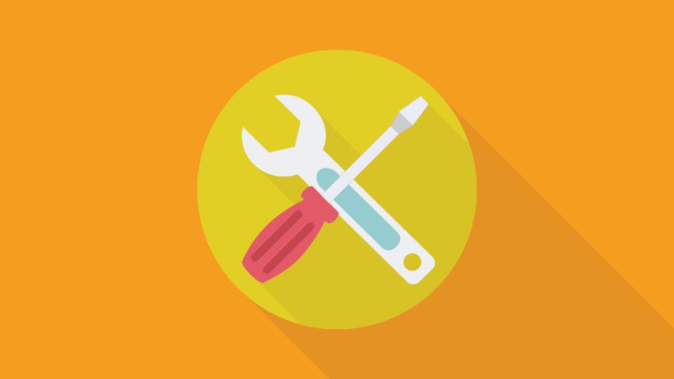 Cara Menghilangkan Icon Tang dan Obeng di Blog Dengan Mudah