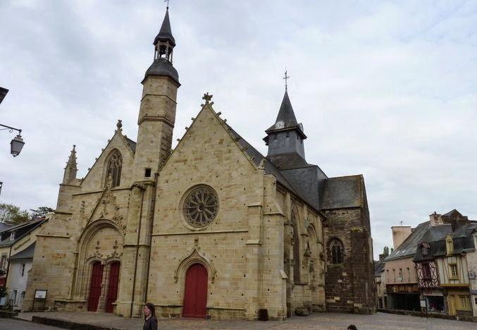 Malestroit, Iglesia de Saint-Gilles.