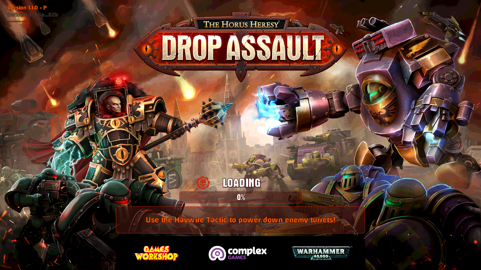 Mobile Game Review: Horus Heresy: Drop Assault | Wargaming Hub