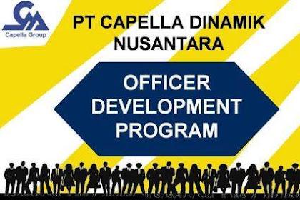 Lowongan Kerja PT. Capella Dinamik Nusantara Pekanbaru Mei 2019