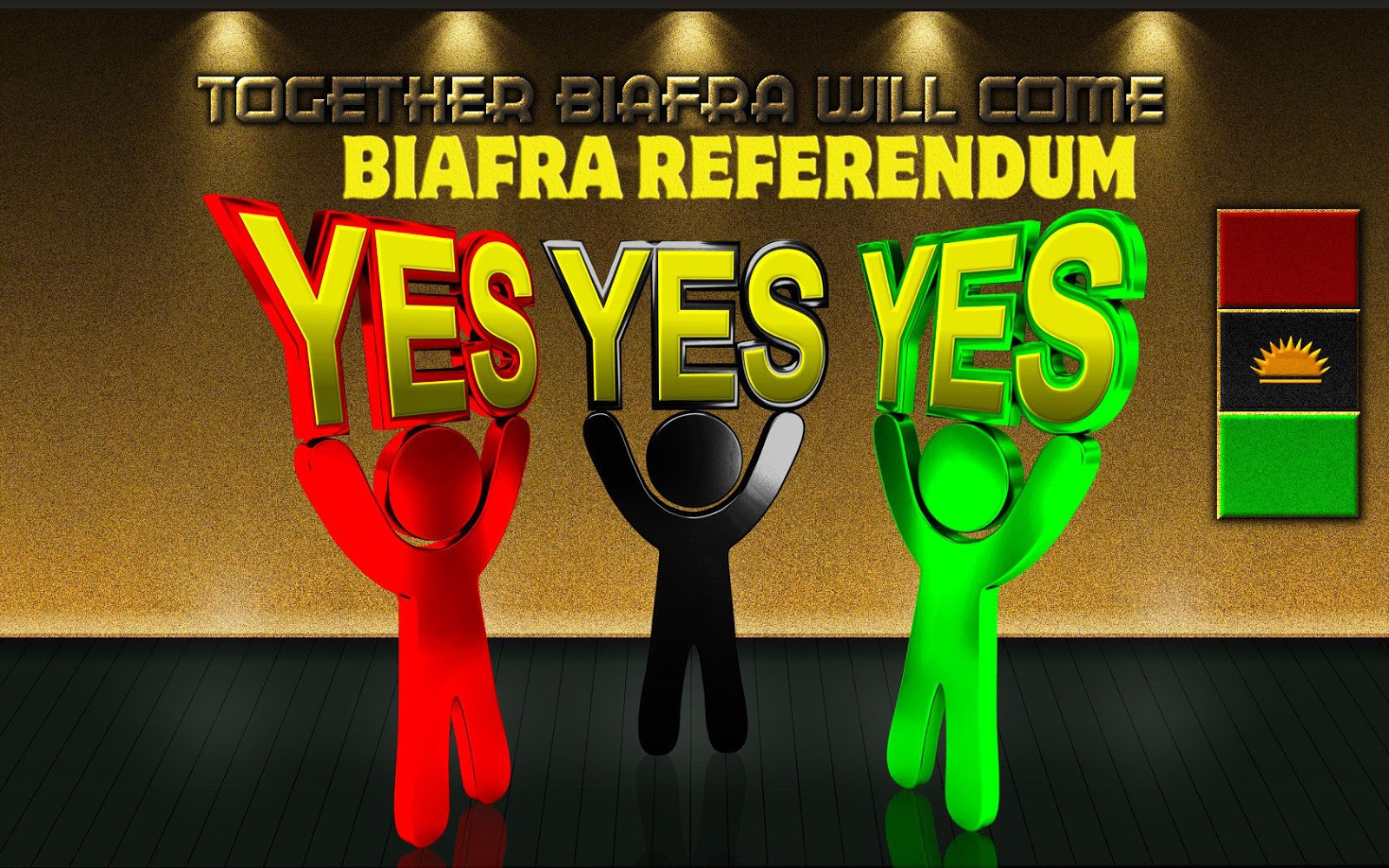 AS THE FEVER AND FEAR OF BIAFRA REFERENDUM GRIPS NIGERIA AND