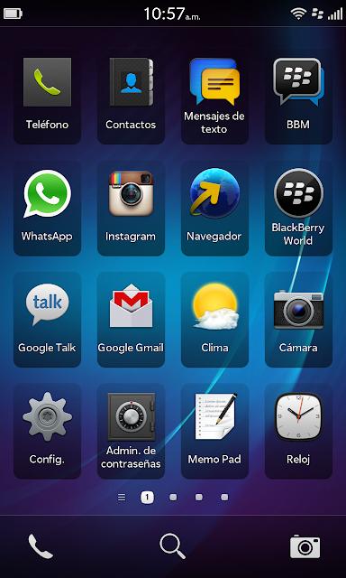 Si tienes problemas para instalar WhatsApp en tu BlackBerry Z10, lo que debes hacer es entrar a configuraciones, ir a Actualizaciones y comenzar la actualizacion de tu BB al nuevo Sistema Operativo 10.0.10.82, una vez hagas esto directamente en tu BB, ya podras instalar WhatsApp si ningun problema como pueden ver en la imagen.