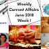 Weekly Current Affairs June 2018- Week I