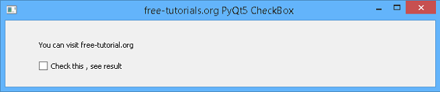 python-catalin: Python Qt5 - simple checkbox example
