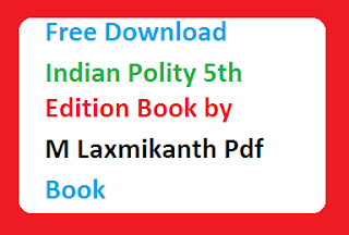 Indian Polity 5th Edition Book by M Laxmikanth Pdf Book Free