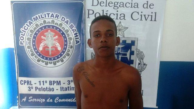 Polícia prende homem com mandado de prisão em aberto por tráfico de droga em Itatim