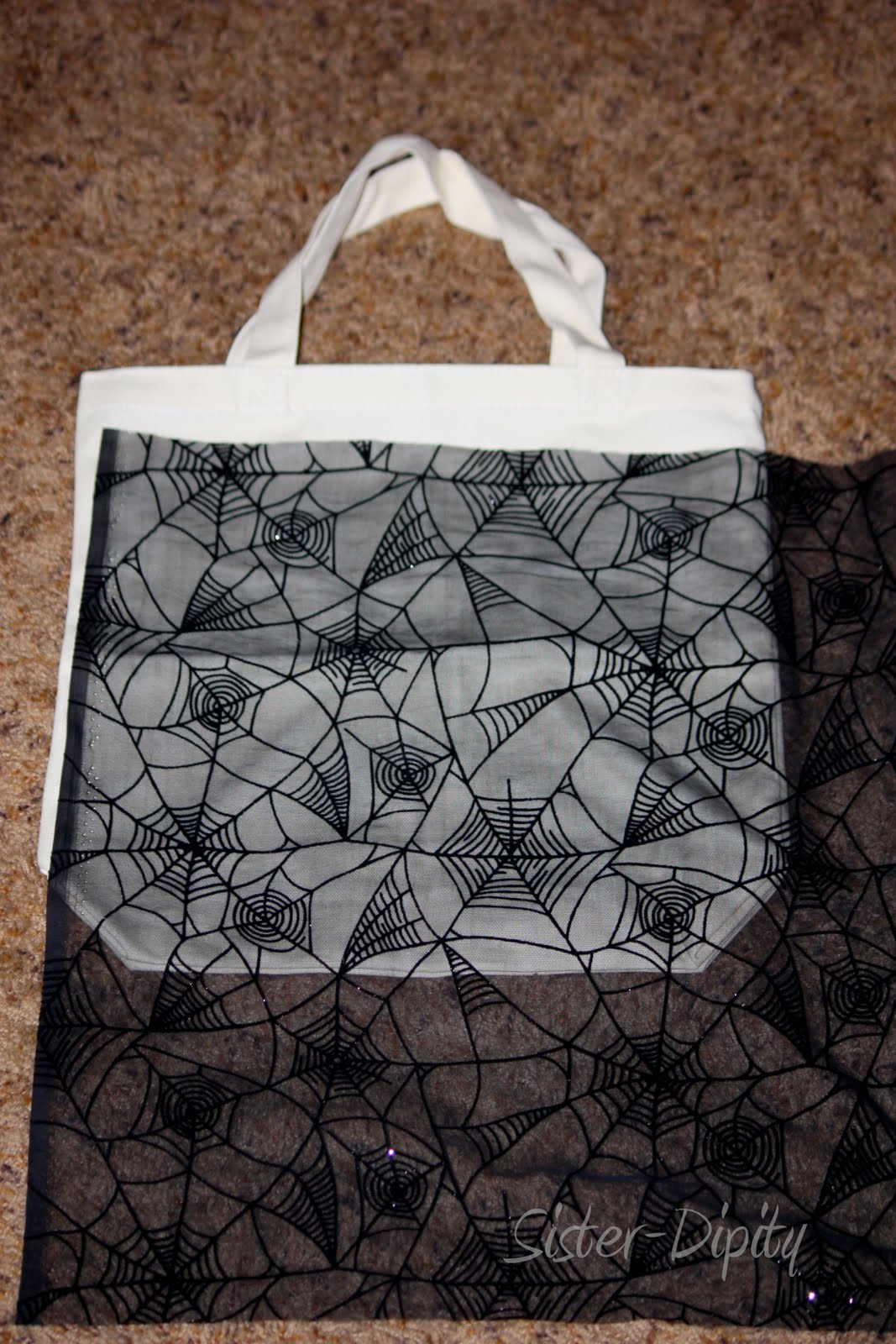 Sister Dipity No Sew Trick Or Treat Bags