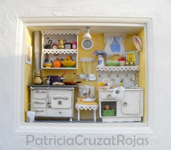 Patricia cruzat artesania y color una cocina para alguien - Cocinas hechas a mano ...