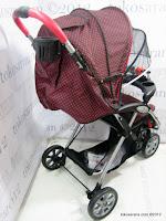 4 Kereta Bayi BabyDoes CH290 Jogger Roda Tiga