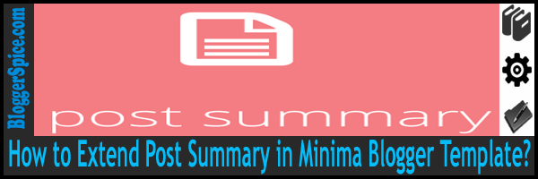 minima post summary