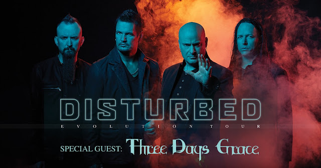 Disturbed World Evolution Tour 2019