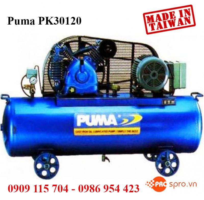 Cung cấp máy nén khí puma cho các công trình xây dựng và nhà máy