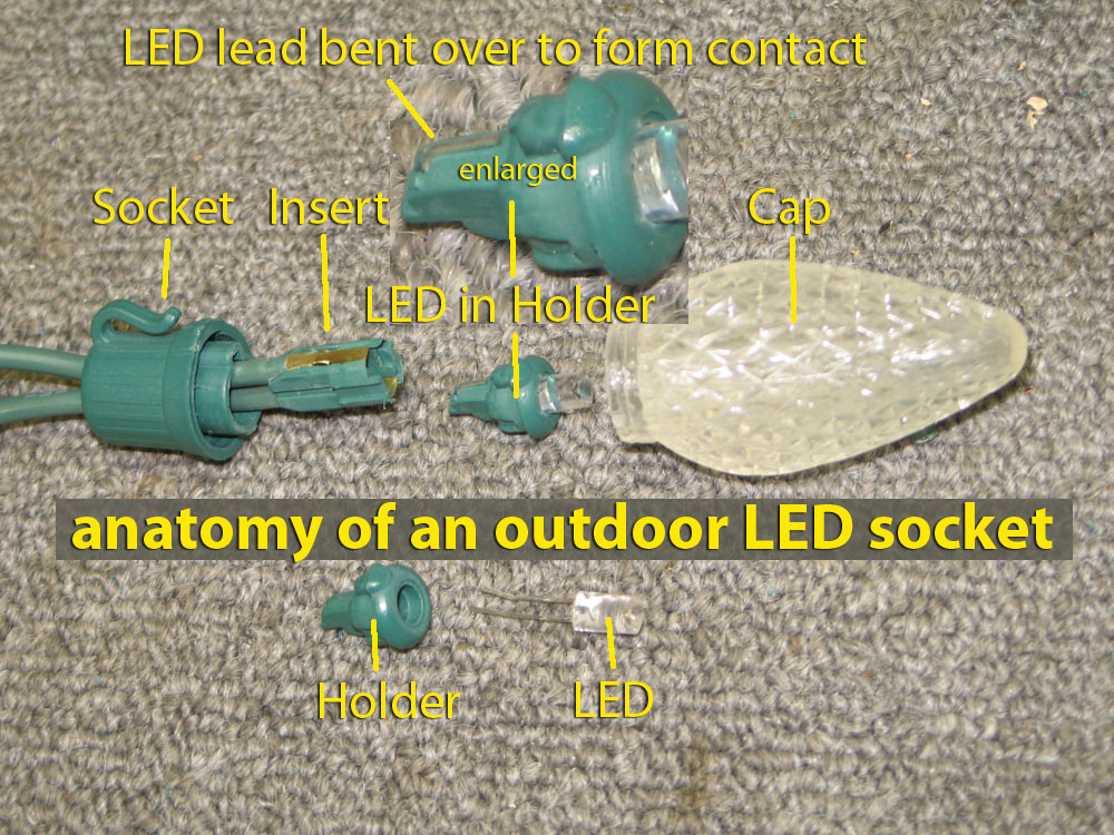 I Want To Repair An Led Christmas Light String With 3 Manual Guide
