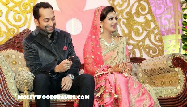 Fahadh-Nazriya wedding reception photos