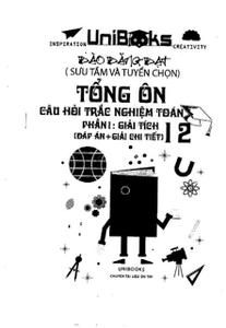 Tổng ôn câu hỏi trắc nghiệm Toán Phần 1: Giải tích 12 - Đào Đăng Đạt