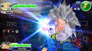 Dragon Ball Z TTT Mod ISO PPSSPP