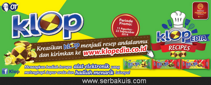 Kontes KLOP Recipe Berhadiah Home Apps
