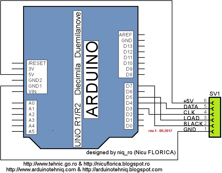 Arduino tehNiq: Itron FG209M2 vfd display controlled by Arduino via