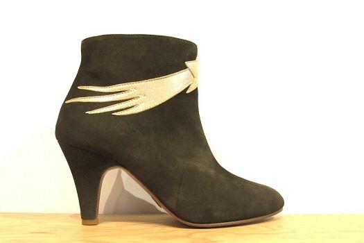 Patricia Blanchet boots Chinaski kaki