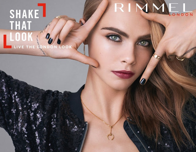 Cara Delevingne stars in the Rimmel London 2017 Campaign