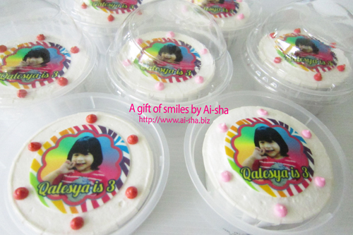 Edible Image Cupcake for kids birthday party