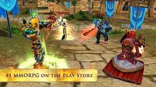 Game Order and Chaos Online MOD Unlimited Money Apk Android