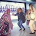 Funke Akindele Bello dances at Heathrow Airport (Photos)