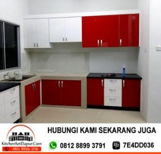 Jasa pembuatan kitchen set bogor kitchen set murah for Buat kitchen set murah