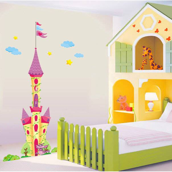 Disney Castle Wall Decal at Home and Interior Design Ideas