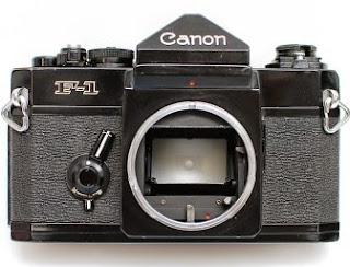 Canon F1 depan
