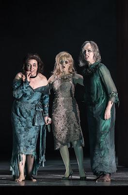 Christine Rice, Sally Matthews, Anne Sofie von Otter - Thomas Adès: The Exterminating Angel - © ROH, photo Clive Barda