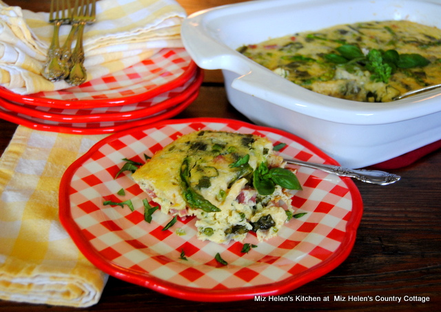 Crock Pot Brunch Frittata at Miz Helen's Country Cottage