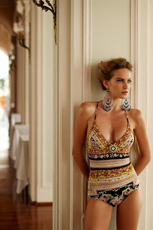 Look like a model moda mare estate 2015 tutti i costumi interi che fanno tendenza foto - Costumi bagno interi ...