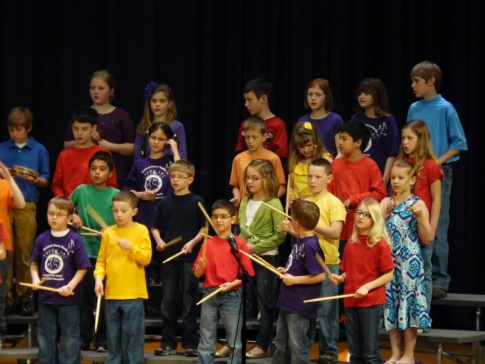 The Little Things 3rd Grade Concert Some Music For