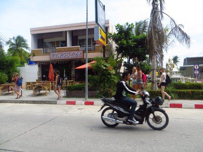 Пешеходы на Пангане