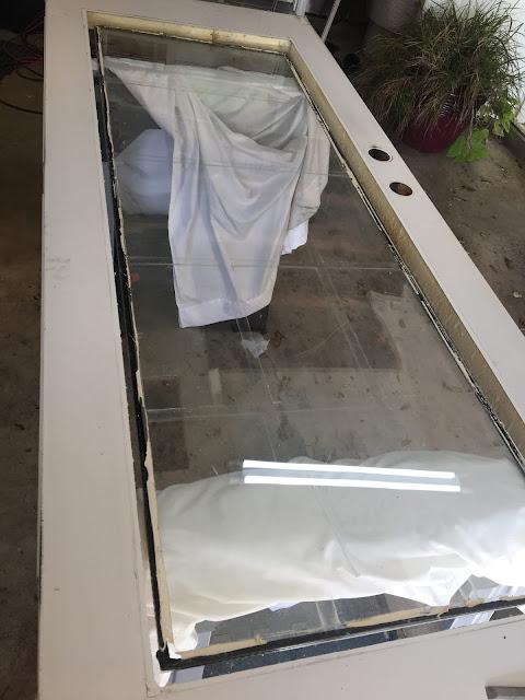 Replacing a door lite window frame | House Homemade