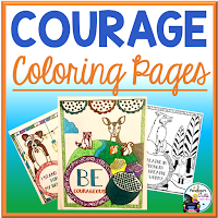 courage coloring pages