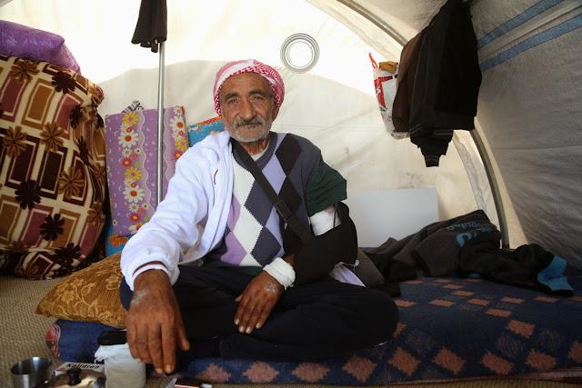 Πολεμώντας στην Κομπάνι, ετών 67...