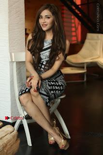 Telugu Actress Angela Krislinzki Latest Pos in Short Dress  0157.JPG