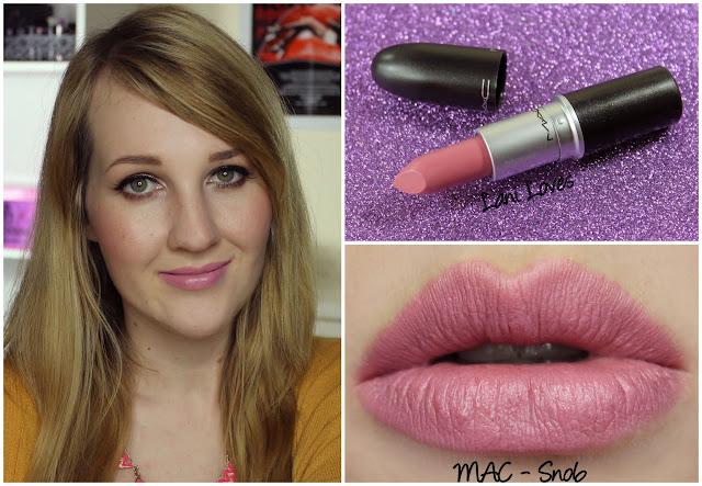 MAC Snob lipstick swatch