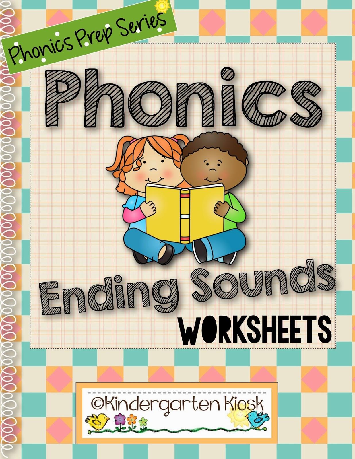 Kindergarten Kiosk Phonics Prep Parts 3 Amp 4