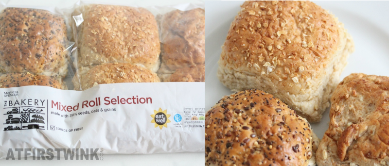 Marks and Spencer mixed roll selection