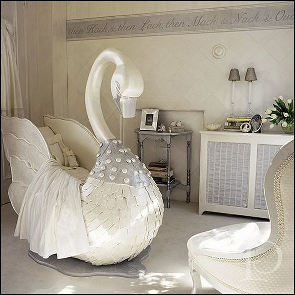 swan lake nursery decorating ideas