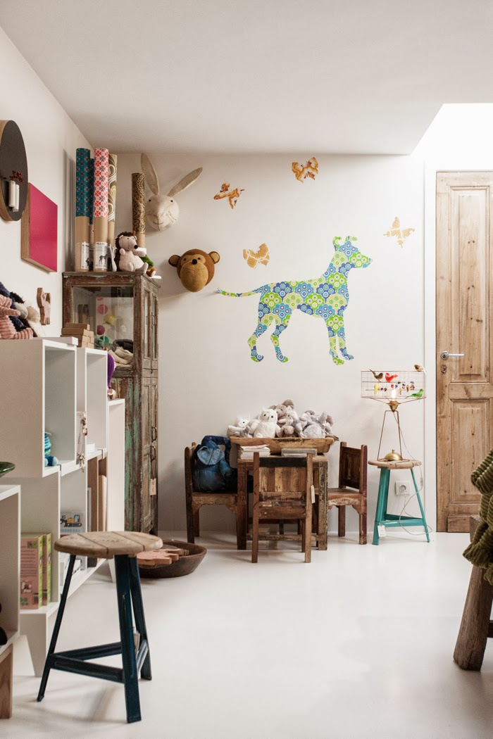 kids corner at Couleur Locale conceptstore  in Knokke