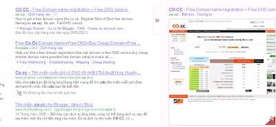 Hình chụp Co.CC trên google