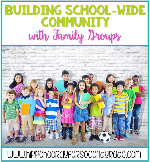 Strengthen your school community by establishing school-wide family groups! Similar to homerooms in high school, a family group consists of students from each grade at your school that travel together as a cohort for their entire time at the school.