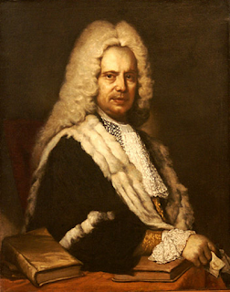 An 18th century portrait of Scipione by  an unknown artist